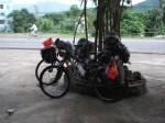 Pakir basikal, rehat
