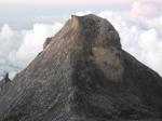 Salah satu pemandangan Gunung Kinabalu